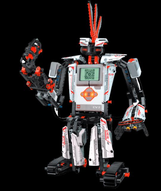 Przykładowy robot Lego EV3